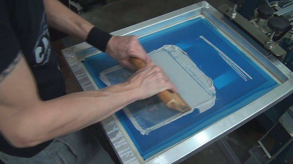 silk screen