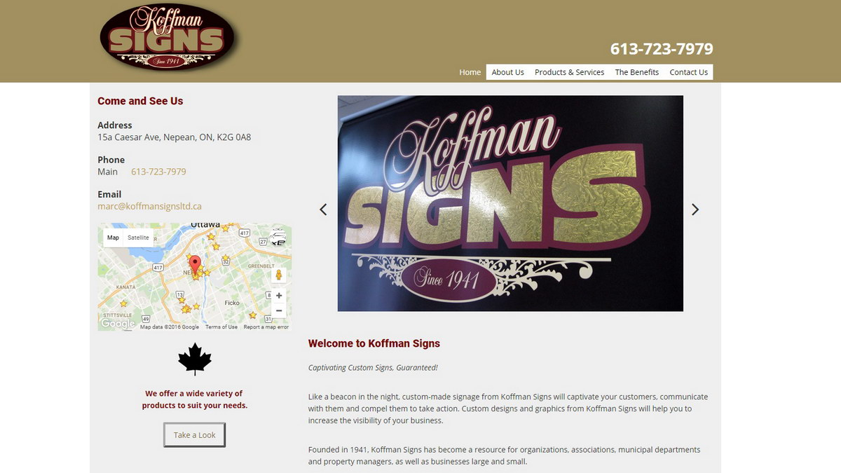 old koffman site