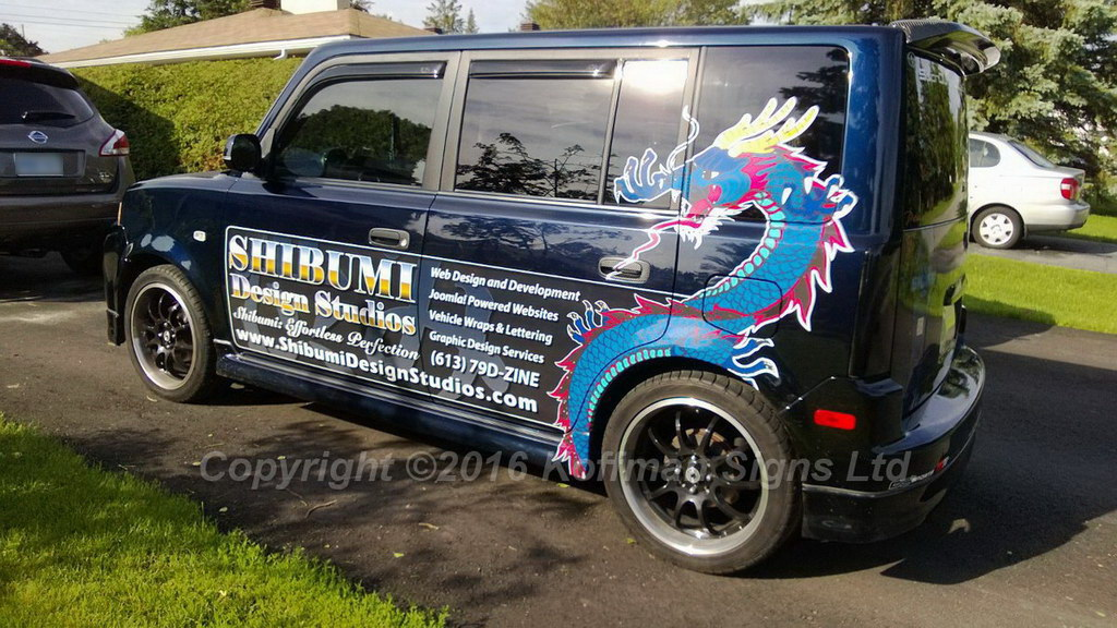 Partial wrap on 2004 Scion xB